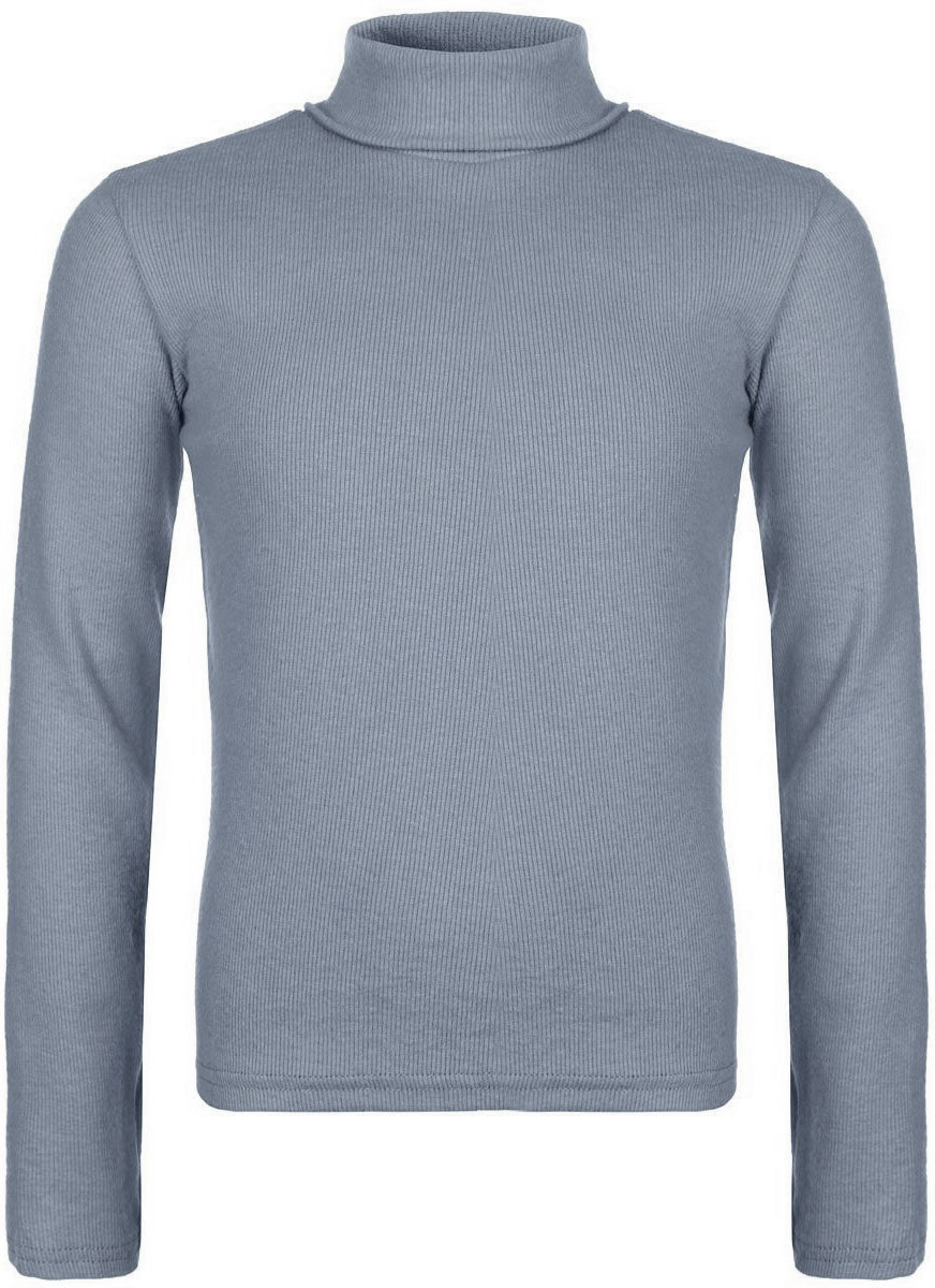 Водолазка для мальчика Gul-Ren-Teks, цвет: серый. УзТ-ВД-033-09. Размер 122