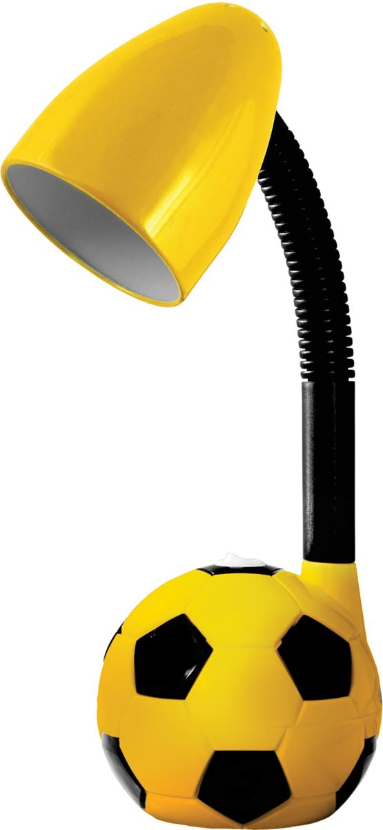 Energy EN-DL14, Orange Black лампа настольная366039Настольная электрическая лампа Energy EN-DL14 предназначена для лампочек со стандартным цоколем Е27 (в комплект не входит). Онаидеально подходит для чтения и выполнения домашних заданий детьми, равно как и для работы с бумагами или за компьютером. Подвижнаяножка позволяет гибко регулировать высоту и направление излучаемого света. Диаметр абажура составляет 125 мм.Высота лампы: 45 см.