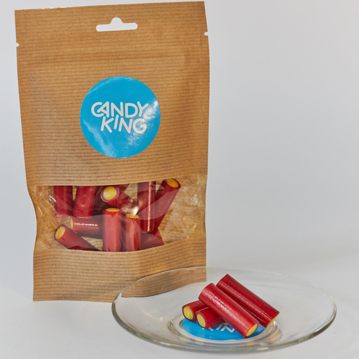 Candy King Палочки с ревенем Конфета желейная со вкусом ревеня, 100 г