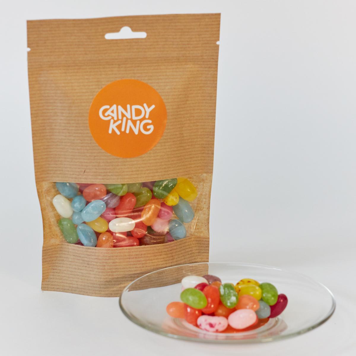 Candy King Изысканные бобы Драже сахарное с фруктовым вкусом, 100 г