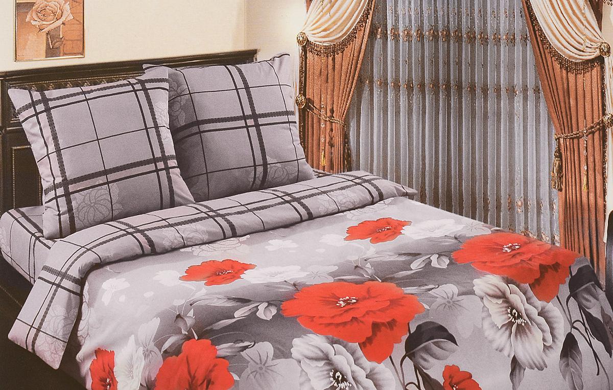Комплект белья АртПостель Мишель, 2-спальный, наволочки 70x70. 904904Комплект постельного белья АртПостель Мишель выполнен из поплина (100% хлопка) высочайшего качества. Поплин - это тонкая и легкая хлопчатобумажная ткань высокой плотности полотняного переплетения, сотканная из пряжи высоких номеров.При изготовлении перкаля используются длинноволокнистые сорта хлопка, что обеспечивает высокие потребительские свойства материала.Несмотря на свою утонченность, перкаль очень практичен - это одна из самых износостойких тканей для постельного белья.Комплект состоит из пододеяльника, простыни и двух наволочек. Постельное белье с ярким дизайном, имеет изысканный внешний вид. Благодаря такому комплекту постельного белья вы сможете создать атмосферу роскоши и романтики в вашей спальне.