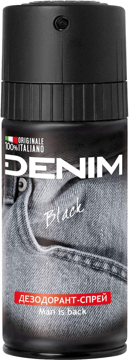 Denim Дезодорант-спрей Black, 150 мл26115Эксклюзивная Формула спрея-дезодоранта для тела Denim разработана специально для защиты от неприятных запахов. Флакон легко открывается одним повором защитного механизма. Denim - уверенность и соблазнительный аромат 24 часа в сутки.