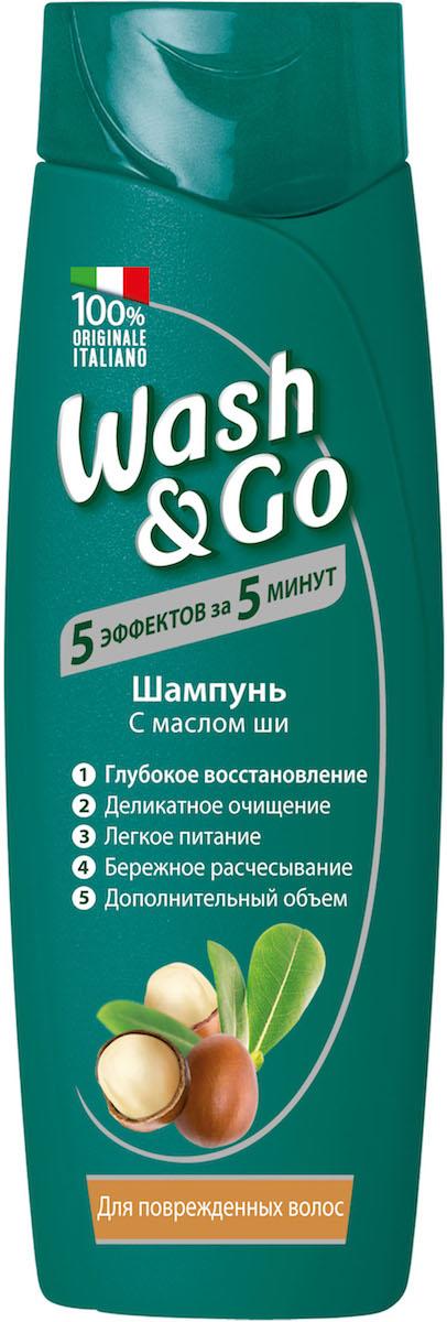Wash&Go Шампунь с маслом ши для поврежденных волос, 400 мл26136Шампунь Wash & Go с любовью ухаживает за вашими волосами, делая их невероятно живыми и объемными. Его особая формула нежно очищает волосы и кожу головы, обеспечивая ощущение легкости и объем. Обогащенный маслом ши, известным своими восстанавливающими и укрепляющими свойствами, этот шампунь ухаживает за поврежденными волосами, обеспечивая им питание и защиту.