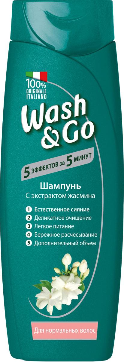 Wash&Go Шампунь с экстрактом жасмина для нормальных волос, 200 мл26144Шампунь Wash & Go с любовью ухаживает за вашими волосами, делая их невероятно живыми и объемными. Его особая формула нежно очищает волосы и кожу головы, обеспечивая ощущение легкости и объем. Обогащенный экстрактом жасмина, известным своими очищающими и увлажняющими свойствами, этот шампунь - идеальный выбор для нормальных волос.