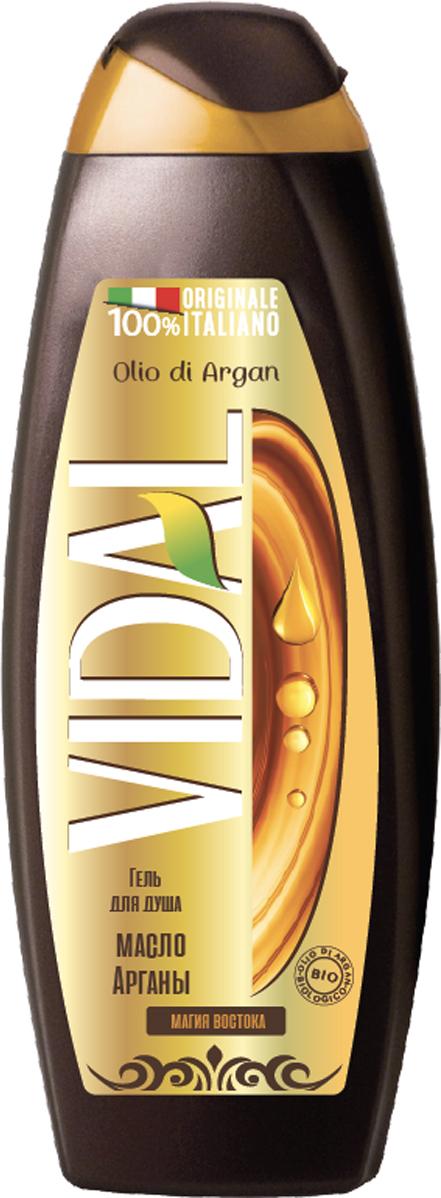 Vidal Гель для душа Масло Арганы, 500 мл гели shemen amour гель для душа moroccan spa ароматический с аргановым маслом 500мл