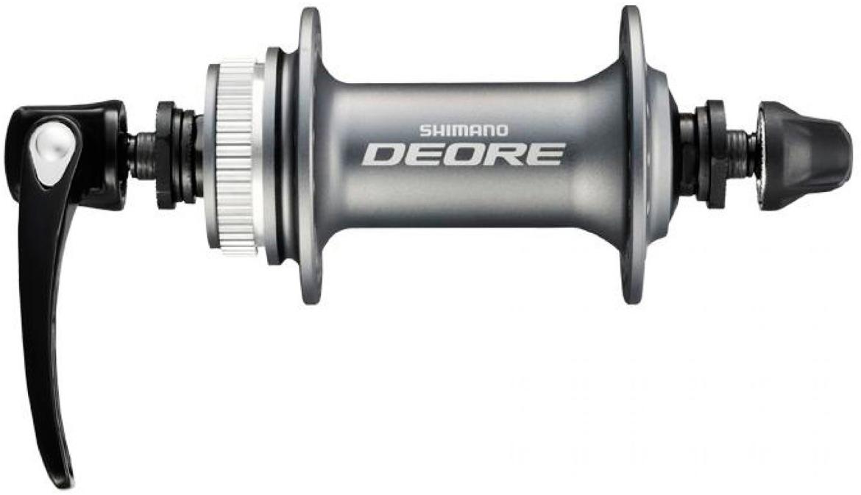 Втулка задняя Shimano Deore T610, 32 отверстия, 8/9/10ск, QR, цвет: серебристый