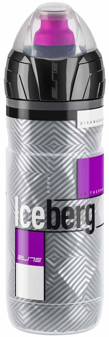 Фляга Elite Iceberg, цвет: лиловый, 500 мл