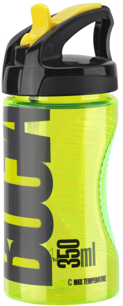 Фляга Elite Bocia, цвет: желтый, 350 мл фляга велосипедная детская cyclotech с держателем 350 мл cbs 1vin