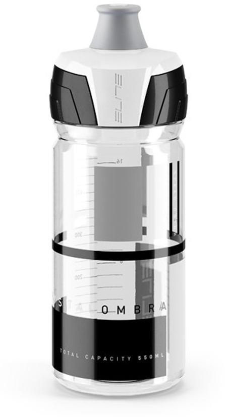 Фляга Elite Crystal Ombra, цвет: серый, 550 мл
