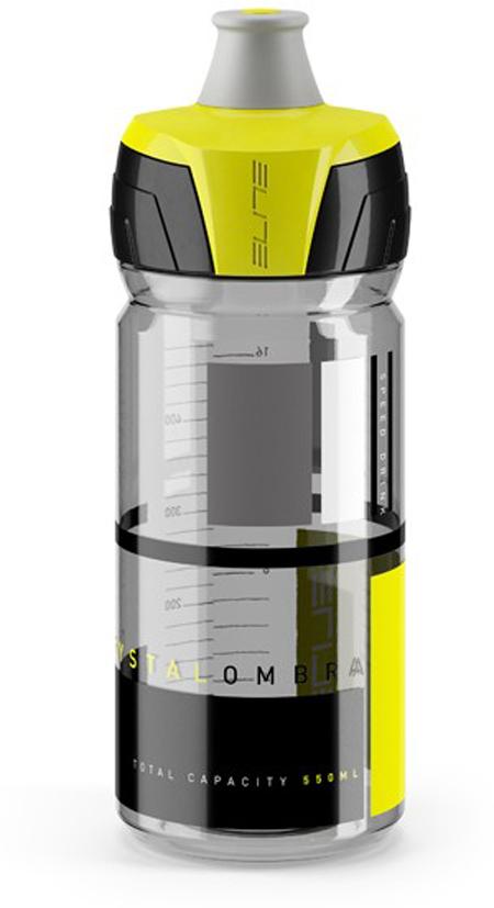 Фляга Elite Crystal Ombra, цвет: желтый, 550 мл