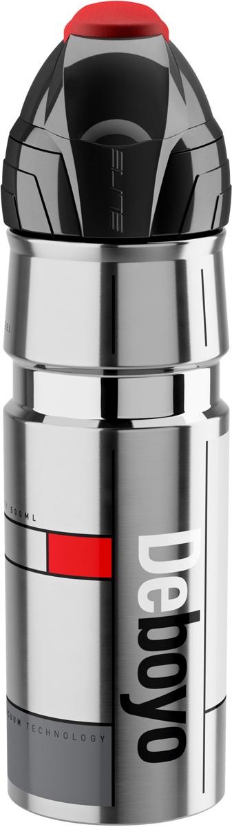 Фляга Elite Deboyo, 500 млEL0160100Фляга-термос Elite Deboyo Thermo, объем 500 ml, нержавеющая сталь, до 12 часов, вакуумная изоляция, защитный колпачок.