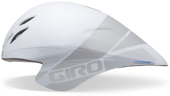 Шлем велосипедный Giro Advantage, цвет: белый, серебристый. Размер L