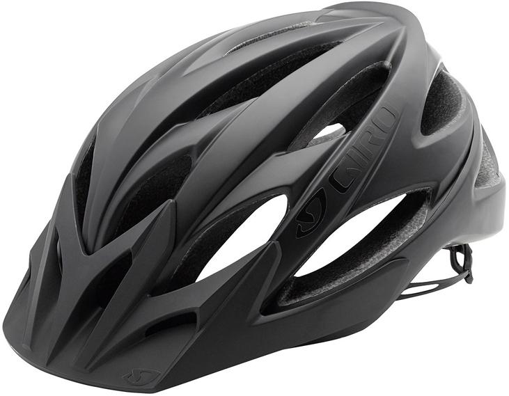 Шлем велосипедный Giro XAR, цвет: матовый черный. Размер M