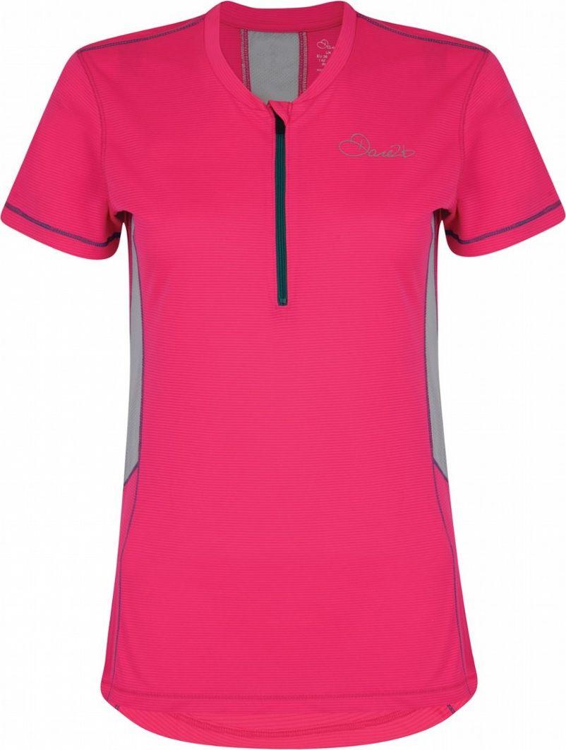 Веломайка женская Dare 2b  Assort Jersey , цвет: розовый. DWT402-887. Размер 12 (44/46) - Велоспорт