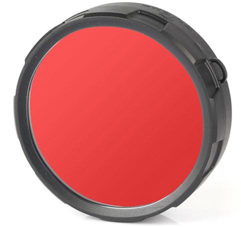 Фильтр для фонарей Olight FM20-R, цвет: красный zoom led flashlight 18650 rechargeable portable light olight tactical torch aluminum alloy torchlight fishing cycling