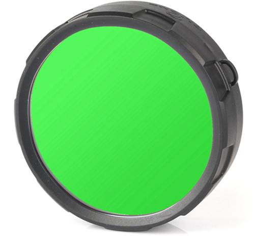 Фильтр для фонарей Olight FM20-G, цвет: зеленый