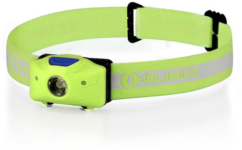 Фонарь светодиодный налобный Olight H05 Active, цвет: зеленыйMV-907095Код MV-907095 Бренд Olight Тип фонаря светодиодный Макс.дальность луча (м.) 55 Время работы (мин.) 2400 Батарейки в комплекте есть Световой поток (лм.) 150 Питание 2xАА Тип подгруппы Налобные Коллекция H Series Длина (см) 5.6Компактный налобный фонарь Olight H05 Active на белом светодиоде Cree XM-L2 мощностью 150 люмен и двумя красными светодиодами для тактического применения. Фонарь питается от двух мизинчиковых батареек типа ААА, имеет индикатор разряженности батареи. Акриловая TIR оптика с высоким коэффициентом светопропускания обеспечивает равномерный свет для работы вблизи себя.Технические характеристики:Источник света — светодиод Cree XM-L2 и 2 красных диода 3528. Срок службы светодиодов — 50 000 часов (?5 лет непрерывной работы). Мощность светового потока — 150 люмен. Дальность светового потока (белый свет) — 55 метров ANSI. Интенсивность — 750 Candela. Линза — акриловая PMMA TIR оптика, 90% пропускания света. Питание - 2 ? AAA 1.5 V. Alkaline / Lithium. Индикатор напряжение батареи будет гореть красным при напряжении менее 1.8 В. Угол наклона фонаря регулируется от 00 до 500. Схема защиты от переполюсовки элементов питания – защищает от неправильной установки батарей. Режим памяти: есть — запоминание последнего режима работы в бесконтактном управление. Корпус изготовлен из сверхпрочного пластика Bayer модель PC2805. Водонепроницаемость IPX-4 (Защита от брызг, падающих в любом направлении) Ударозащита — падение с высоты 1 метр Изготовлен в соответствии с военными стандартами армии США Mil-spec: MIL-STD-810F. Габариты: длина 56 мм диаметр 36 мм. Вес: 43,5 г. (без батарей). Комплектация: фонарь Olight H05 Active, эластичное налобное крепление, 2 шт. батареи Lithium Olight AAA, упаковка, инструкция.Время работы (2 х Lithium АА):High 150~90 люмен — 10 + 280 минут Med 30 люмен — 10 часов Low 10 люмен — 27 часовУПРАВЛЕНИЕ ФОНАРЕМ:Перед первым использованием фонаря откройте батарейный отсек и удал