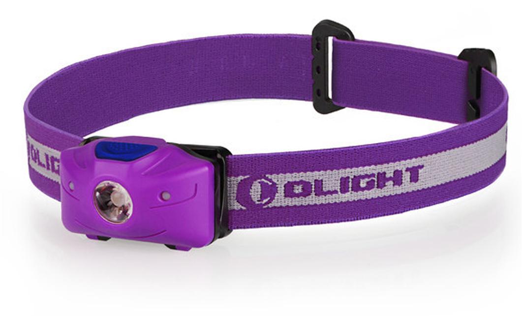 Фонарь светодиодный налобный Olight H05 Active, цвет: фиолетовыйMV-907101Код MV-907101 Бренд Olight Тип фонаря светодиодный Макс.дальность луча (м.) 55 Время работы (мин.) 2400 Батарейки в комплекте есть Световой поток (лм.) 150 Питание 2xАА Тип подгруппы Налобные Коллекция H Series Длина (см) 5.6Компактный налобный фонарь Olight H05 Active на белом светодиоде Cree XM-L2 мощностью 150 люмен и двумя красными светодиодами для тактического применения. Фонарь питается от двух мизинчиковых батареек типа ААА, имеет индикатор разряженности батареи. Акриловая TIR оптика с высоким коэффициентом светопропускания обеспечивает равномерный свет для работы вблизи себя.Технические характеристики:Источник света — светодиод Cree XM-L2 и 2 красных диода 3528. Срок службы светодиодов — 50 000 часов (?5 лет непрерывной работы). Мощность светового потока — 150 люмен. Дальность светового потока (белый свет) — 55 метров ANSI. Интенсивность — 750 Candela. Линза — акриловая PMMA TIR оптика, 90% пропускания света. Питание - 2 ? AAA 1.5 V. Alkaline / Lithium. Индикатор напряжение батареи будет гореть красным при напряжении менее 1.8 В. Угол наклона фонаря регулируется от 00 до 500. Схема защиты от переполюсовки элементов питания – защищает от неправильной установки батарей. Режим памяти: есть — запоминание последнего режима работы в бесконтактном управление. Корпус изготовлен из сверхпрочного пластика Bayer модель PC2805. Водонепроницаемость IPX-4 (Защита от брызг, падающих в любом направлении) Ударозащита — падение с высоты 1 метр Изготовлен в соответствии с военными стандартами армии США Mil-spec: MIL-STD-810F. Габариты: длина 56 мм диаметр 36 мм. Вес: 43,5 г. (без батарей). Комплектация: фонарь Olight H05 Active, эластичное налобное крепление, 2 шт. батареи Lithium Olight AAA, упаковка, инструкция.Время работы (2 х Lithium АА):High 150~90 люмен — 10 + 280 минут Med 30 люмен — 10 часов Low 10 люмен — 27 часовУПРАВЛЕНИЕ ФОНАРЕМ:Перед первым использованием фонаря откройте батарейный отсек и у