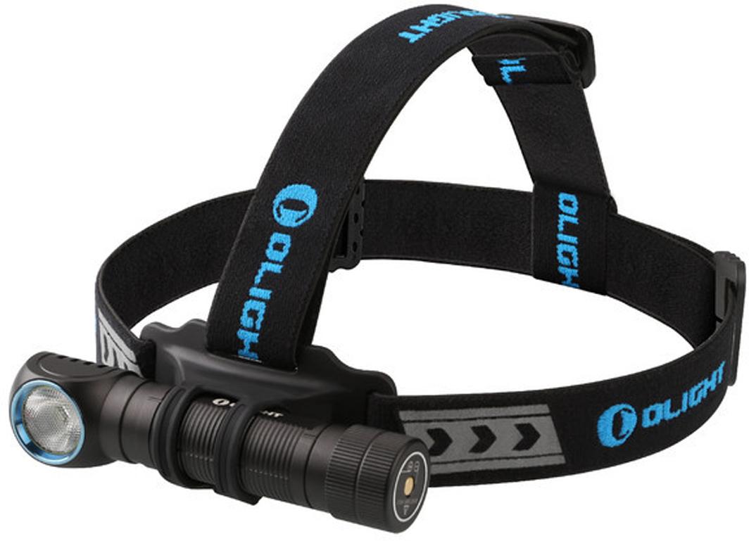 Фонарь светодиодный налобный Olight H2R Nova, NW нейтральный, с АКБ и USB ЗУ