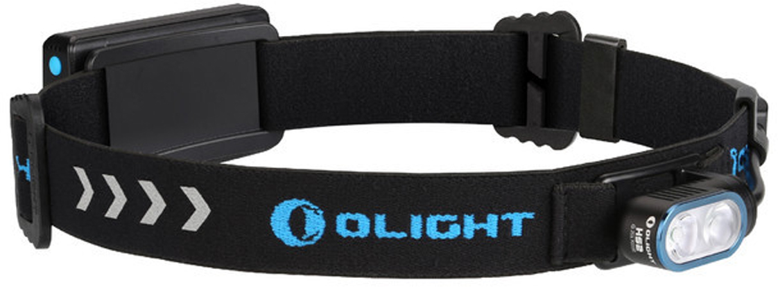 Код MV-907439 Бренд Olight Тип фонаря светодиодный Макс.дальность луча (м.) 85 Время работы (мин.) 1080 Световой поток (лм.) 400 Питание блок Li-ion 2000 мАч Тип подгруппы Налобные Коллекция H Series Длина (см) 4.5 Ширина (см) 2.3 Высота (см) 2.4 Компактный светодиодный налобный фонарь Olight HS2 от компании Olight (Олайт) на двух светодиодах Cree XP-G3 ближнего и дальнего действия. Фонарь поставляется в комплекте с аккумуляторным Li-ion блоком емкостью 2000 мАч, который заряжается через порт micro USB. Фонарь управляется пультом на шнуре, который соединяет фонарь и аккумуляторный блок. Раздельный фонарь и аккумулятор обеспечивает идеальную развесовку, благодаря которой фонарь практически не ощущается на голове, позволяет с заниматься бегом в темное время суток, поездками на лыжах и другими видами спорта.  Световая головка фонаря HS2 обладает очень маленьким размером и весом, что позволяет удобно использовать его и не зацеплять его в стесненных условиях работы. Корпус выполнен из из авиационного алюминия марки Т6061 T6 с анодированием, обеспечивает отличный отвод тепла в работе на максимальных режимах яркости. Аккумуляторный блок полностью защищен от воды, имеет индикацию заряда аккумуляторной батареи и заряжается через порт micro USB, который защищен резиновой заглушкой.  Световую головку фонаря HS2 можно отсоединить от родного аккумуляторного блока и подсоединить любой внешний источник типа Power Bank через micro USB разъем или в порт зарядки акб и светить продолжительное время. Olight HS2 имеет индикацию заряда аккумулятора с функцией подачи звукового сигнала, когда заряд аккумулятора падает до 10% емкости, таким образом, вам не нужно будет снимать его с головы.  Светоотражаютщие элементы на головном ремне помогут пешеходам, спортсменам в темное время суток и при неблагоприятных погодных условиях на неосвещенных участках, находясь на проезжей части, оставаться заметными для водителей.  Технические характеристики:  Источник света — 2 светодиода Cree XP-G3 CW. Срок