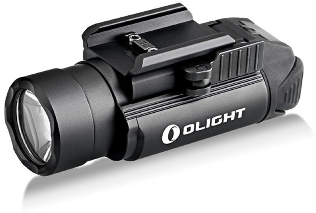 Код MV-911047 Бренд Olight Тип фонаря светодиодный Макс.дальность луча (м.) 235 Время работы (мин.) 3000 Батарейки в комплекте есть Световой поток (лм.) 1200 Питание 2xCR123 / 2x16340 Тип подгруппы Тактические Коллекция M Series Длина (см) 8.2Пистолетный тактический фонарь Olight PL-2 Valkyrie от компании Olight (Олайт). Фонарь является революционным продолжением фонаря PL-1 Valkyrie, который отлично зарекомендовал себя у органов спецслужб, безопасности и игроков в страйкбол. Фонарь работает на двух батарейках CR123A, за счет чего мощный светодиод XH-P 35 HI американской фирмы Cree выдает 1200 люмен.  Быстросъемное крепление фонаря позволяет закрепить на планках стандарта Mid-std 1913 и на пистолетах Glock с системой weawer. Линза — TIR оптика выполнена из высокопрочного акрилового материала, обеспечивает отличный сфокусированный световой поток более чем на 235 метров. Данное стекло отлично защищает оптику и светодиод от повреждений, которое возможно при падении фонаря или при случайном попадании страйкбольного шарика.  Простое и удобное управление позволяет с удобством пользоваться как левше, так и правше. Фонарь можно включить с постоянным светом, можно активировать тактическое включение с удержанием или Strob.  Система защиты от перегрева — «saftey» опускает мощность светового потока на после 90 секунд работы на максимальном режиме 1200 люмен.  Технические характеристики:  Источник света — светодиод Cree XH-P 35 HI Cool white. Срок службы светодиода — 50 000 часов (?5 лет непрерывной работы). Мощность светового потока 1200 люмен. Дальность светового потока до 235 метров. Интенсивность светового потока 13,800 Cd. 2 режима работы: 1200 люмен и строб. Линза — акриловая TIR . Питание: 2 x CR123А 3.0 В. Защитная схема от переплюсовки батареи питания. Неограниченное использование по времени в max режиме. Корпус — анодированный авиационный алюминий марки T6061 высшей твердости (Type III), уберегают фонарь от царапин. Встроенное быстросъемное крепление на планку Weawer и