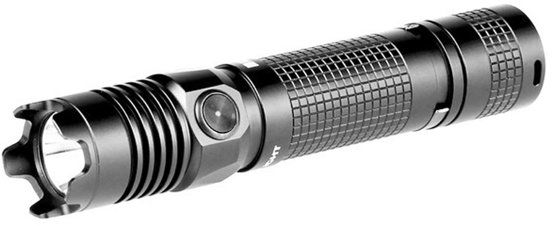Код MV-912433 Бренд Olight Тип фонаря светодиодный Макс.дальность луча (м.) 190 Время работы (мин.) 21600 Световой поток (лм.) 1000 Питание 2xCR123A / 1x18650 Тип подгруппы Тактические Коллекция M Series Длина (см)Мощный тактический светодиодный фонарь Olight M1X Striker, который использует светодиод Cree XM-L2 U2. Дальнобойность светового потока составляет рекордные 190 метров ANSI и мощность 1000 люмен. M1X является улучшенной версией тактического фонаря с ударным базелем Olight M18 Striker, который зарекомендовал себя как надежный фонарь на каждый день и любой случай, где нужен свет. Инженеры компании Олайт уместили невероятную мощность в 1000 люмен для такого малого размера корпуса. Ударный базель служит отличным оружием для самообороны, к тому же он отлично убережет от повреждения стекло при случайном падении.  Фонарь имеет тактическую кнопку включения с торца и кнопку у головы фонаря для смены режимов работы, в которую встроен индикатор слабого заряда аккумуляторной батареи, который вас вовремя предупредит о необходимой замене севшего аккумулятора. Задняя торцевая механическая кнопка прямого клика обеспечивает быстрый доступ к максимальному режиму и строб сигналу.  Технические характеристики:  Источник света — светодиод Cree XM-L2 U2. Срок службы светодиода — 50 000 часов (?5 лет непрерывной работы). Мощность светового потока 1000 люмен ANSI/NEMA FL1. Дальность светового потока до 190 метров ANSI/NEMA FL1. Интенсивность светового потока 9,000 Cd. 5 режимов яркости 1000 / 350 / 60 / 10 / 0,5 люмен и режим Строб 10 Гц. Рефлектор — гладкий, создает мощный узконаправленный световой поток. Линза — ультра прозрачное каленное стекло с двойным антибликовым покрытием, Питание: 1?18650 Li-Ion / 2xCR123А. Рабочее напряжение: 3.0 В — 8.4 В. Защитная схема от переплюсовки батареи питания. Режим памяти — aвтозапоминание последнего включенного режима. После включение фонаря в режим Turbo, фонарь автоматически уменьши мощность на 40% для избежания перегрева и дальнейшей дегра