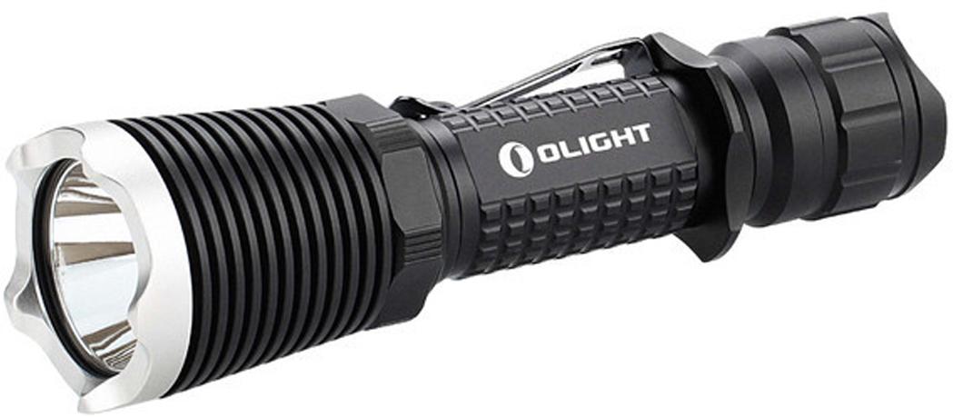 Фонарь светодиодный Olight M23 Javelot SilverMV-912440Код MV-912440 Бренд Olight Тип фонаря светодиодный Макс.дальность луча (м.) 436 Время работы (мин.) 1800 Световой поток (лм.) 1020 Питание 2xCR123A / 1x18650 Тип подгруппы Тактические Коллекция M Series Длина (см) 14.4Olight M23 Javelot — мощный тактический сверх дальнобойный фонарь на высокоэффективном светодиоде Cree XP-L HI V3 (High Intensity), мощностью 1020 люмен с феноменальной дальнобойностью светового потока до 436 метров, что является рекордом среди конкурентов с таким диаметром отражателя. Такой светодиод обеспечивает меньшую интенсивность боковой засветки, в результате чего основной световой поток фокусируется в мощный луч, который достигает такой дальнобойностью.M23 является лаконичным продолжением и рестайлингом самого удачного и надежного фонаря Olight M22, который зарекомендовал себя как самый настоящий «Воин» в любых условиях, способный светить везде, где нужен мощный и качественный свет.Технические характеристики:Источник света — светодиод Cree XP-L HI V3. Срок службы светодиода — 50 000 часов (?5 лет непрерывной работы). Мощность светового потока — 1020 люмен. Интенсивность светового потока — 47,500 Cd. Дальность светового потока — 436 метров. Линза — закаленное минеральное стекло с двойным просветляющим напылением, пропусканием света 96%. Неограниченное использование по времени в режиме High. Число режимов 4: 3 режима яркости и строб-сигнал. Питание: 1?18650 Li-Ion / 2xCR123A / 2xR123 Li-Ion. Напряжение питания: 2.8V — 8.4V. Защитная схема от переплюсовки батареи питания. Индикация заряда батареи — при критичном заряде аккумулятора, фонарь переходит в режим строб, сообщая о необходимости замены аккумуляторной батареи. Режим памяти — aвтозапоминание последнего включенного режима кроме Строб. Поддерживает постоянную яркость свечения за счет стабилизатора в управляющем драйвере. Защита от перегрева: для предотвращения перегрева светодиода в режиме High свет будет уменьшать яркость, восстановить ре