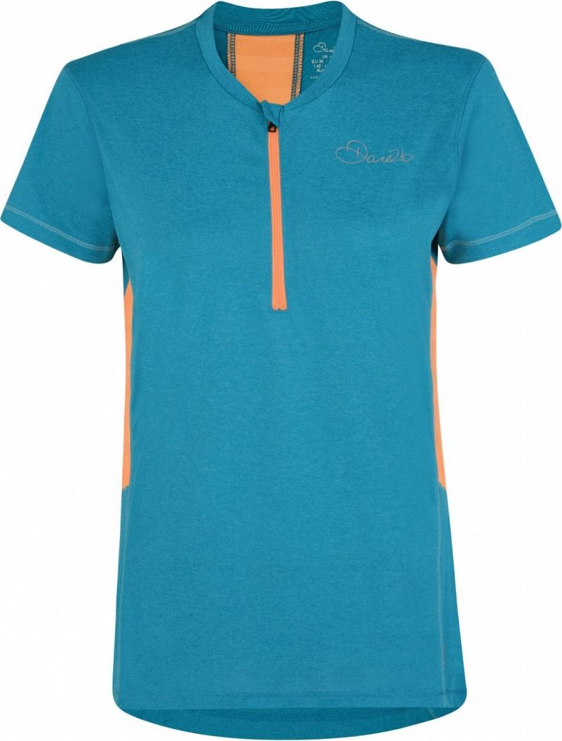Веломайка женская Dare 2b Assort Jersey, цвет: синий. DWT402-7VQ. Размер 14 (46/48) футболка dare 2b dare 2b da017emaxbc9