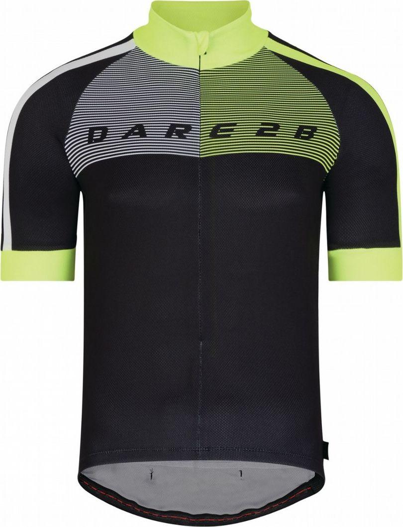 Веломайка мужская Dare 2b AEP Chase Out II, цвет: черный. DMT422-800. Размер M (50) футболка dare 2b dare 2b da017emaxbc9
