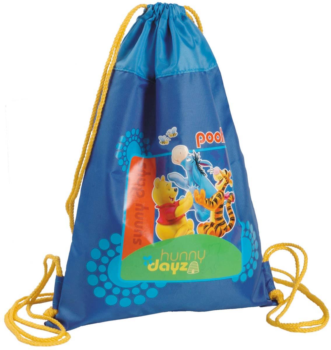 Disney Сумка для сменной обуви Winnie Sky disney disney школьной зрачки девушка 3 4 6 сортов отдыха и путешествия плеча сумка 0168 розовых детского рюкзак