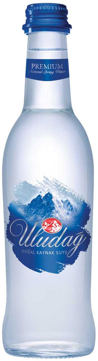 Uludag Премиум Минеральная вода негазированная, 0,33 л uludag минеральная вода газированная 0 2 л