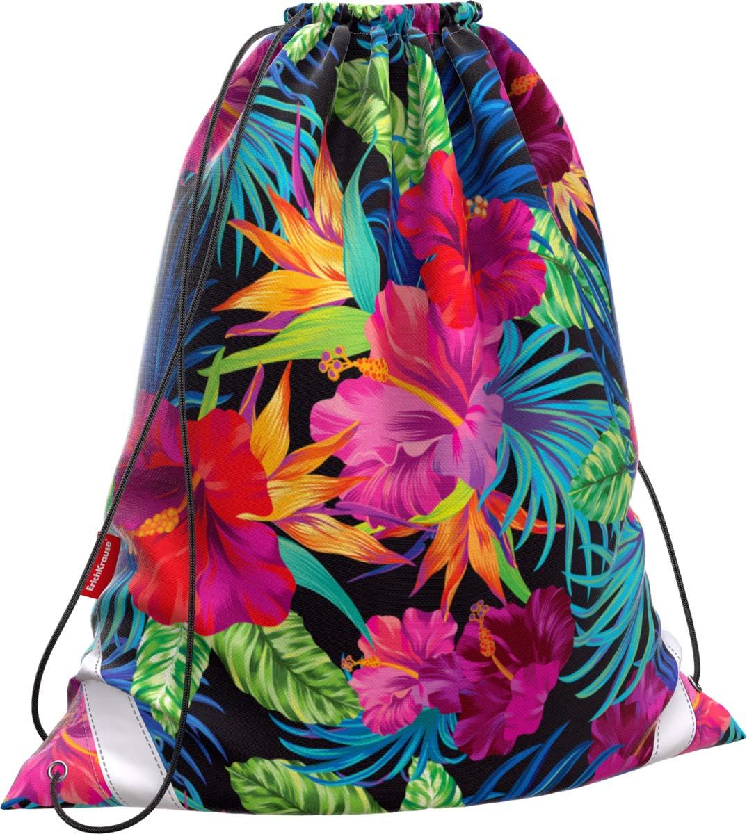 Erich Krause Сумка для сменной обуви Flowers 44743 цена