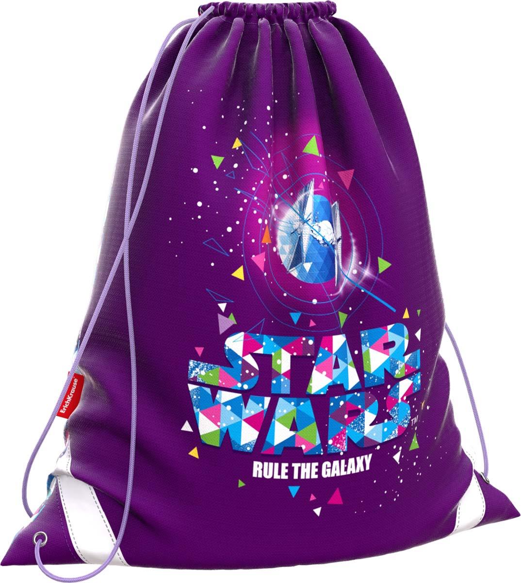 Disney Сумка для сменной обуви Звездные войны Галактика disney disney школьной зрачки девушка 3 4 6 сортов отдыха и путешествия плеча сумка 0168 розовых детского рюкзак