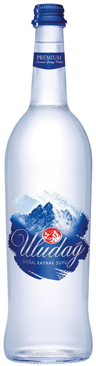 Uludag Премиум Минеральная вода негазированная, 0,75 л uludag минеральная вода газированная 0 2 л