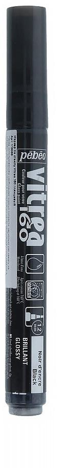 Pebeo Маркер по стеклу Vitrea 160 цвет черные чернила глянцевый 11808829738308852Маркер для росписи по стеклу, обладает высокой светостойкостью. Маркеры Vitrea 160 рекомендуется использовать для надписей и тонких линий. Применение: потрясите маркер, затем надавите на стержень несколько раз перед использованием.Поверхности: стекло, хрусталь. Изделия из «Pyrex», «Arcopal» или их аналоги не использовать. Изделия сушатся 72 часа. Обжиг изделия при дальнейшем использованиипосудомоечной машины: 40 минут при 160°C в духовом шкафу минимум через 24 часа после нанесения краски.