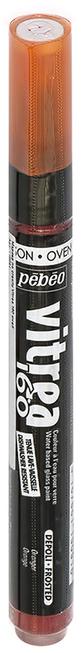 Маркер для росписи по стеклу, обладает высокой светостойкостью. Маркеры Vitrea 160 рекомендуется использовать для надписей и тонких линий. Применение: потрясите маркер, затем надавите на стержень несколько раз перед использованием.Поверхности: стекло, хрусталь. Изделия из «Pyrex», «Arcopal» или их аналоги не использовать. Изделия сушатся 72 часа. Обжиг изделия при дальнейшем использованиипосудомоечной машины: 40 минут при 160°C в духовом шкафу минимум через 24 часа после нанесения краски.