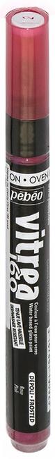 Pebeo Маркер по стеклу Vitrea 160 цвет розовый 11909229738881112Маркер для росписи по стеклу, обладает высокой светостойкостью. Маркеры Vitrea 160 рекомендуется использовать для надписей и тонких линий. Применение: потрясите маркер, затем надавите на стержень несколько раз перед использованием.Поверхности: стекло, хрусталь. Изделия из «Pyrex», «Arcopal» или их аналоги не использовать. Изделия сушатся 72 часа. Обжиг изделия при дальнейшем использованиипосудомоечной машины: 40 минут при 160°C в духовом шкафу минимум через 24 часа после нанесения краски.