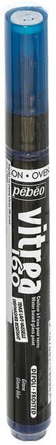 Pebeo Маркер по стеклу Vitrea 160 цвет синий цыганский 11909429738957202Маркер для росписи по стеклу, обладает высокой светостойкостью. Маркеры Vitrea 160 рекомендуется использовать для надписей и тонких линий. Применение: потрясите маркер, затем надавите на стержень несколько раз перед использованием.Поверхности: стекло, хрусталь. Изделия из «Pyrex», «Arcopal» или их аналоги не использовать. Изделия сушатся 72 часа. Обжиг изделия при дальнейшем использованиипосудомоечной машины: 40 минут при 160°C в духовом шкафу минимум через 24 часа после нанесения краски.