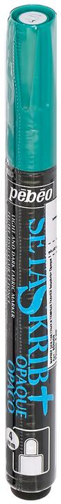 Маркер для ткани Pebeo Setaskrib+ Opaque, цвет: темно-зеленый, 4 мм маркер для ткани pebeo setaskrib opaque цвет голубой 4 мм page 11