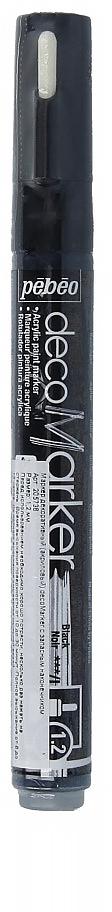 Маркеры на водной основе, содержащие жидкие акриловые краски.Для удобства использования в колпачке каждого decoMarker находится запасной наконечник. Если первоначально установленный наконечник поврежден или пришел в негодность, его необходимо заменить.Рекомендованы для множества техник. После высыхания оттенки не тускнеют. Обладают отличной светостойкостью.Им можно рисовать, писать, декорировать и однородно затушевывать. Цвета непрозрачны, их можно смешивать между собой, а также наносить поверх высохших слоев.Применение: потрясите маркер, затем надавите на стержень несколько раз перед использованием.Время высыхания поверхности от 10 до 30 минут. Полное высыхание от 6 до 12 часов. Смывается мыльной водой прежде, чем полностью высохнет.Поверхности: бумага, картон, папье-маше, дерево, металл, обожженная глина, пластик, холст