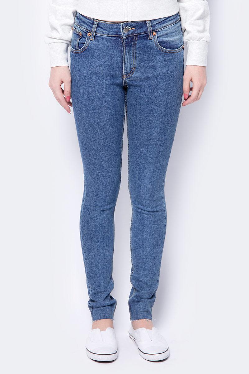 Джинсы женские Cheap Monday, цвет: синий. 0499378. Размер 33-32 (48/50-32) джинсы женские cheap monday 688 washed black slim