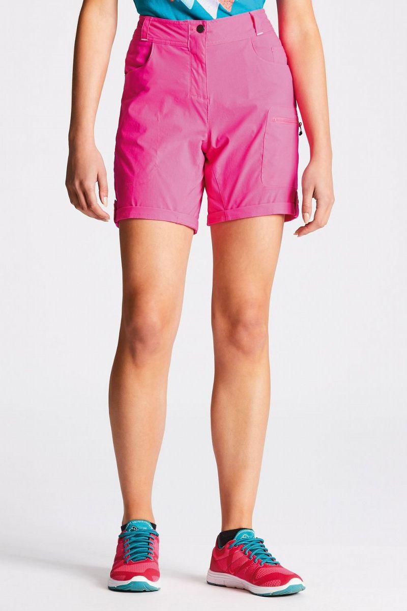 Велошорты женские Dare 2b Melodic Short, цвет: розовый. DWJ336-887. Размер 18 (50) тайтсы dare 2b dare 2b da017ewaxbe6
