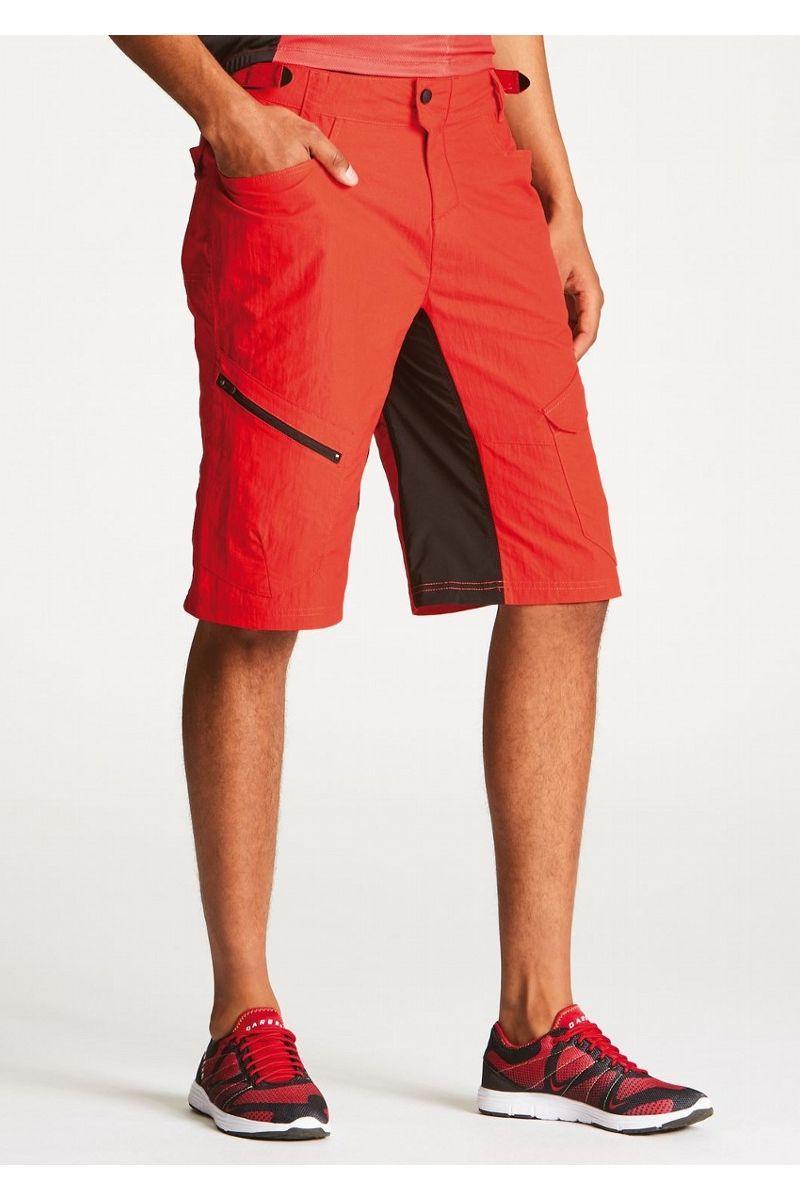 Велошорты мужские Dare 2b Adhere Conv Short, цвет: красный. DMJ326-07X. Размер 36 (52) тайтсы dare 2b dare 2b da017ewaxbe6