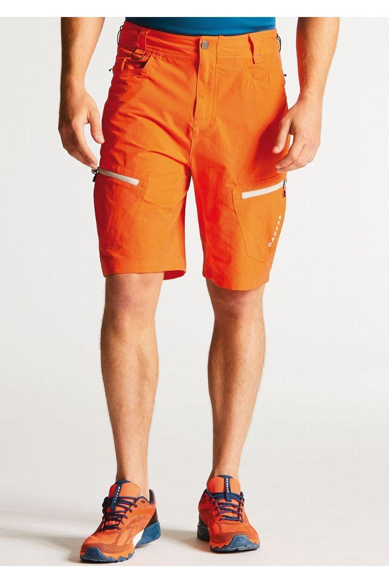 Велошорты мужские Dare 2b Tuned In Short, цвет: оранжевый. DMJ335-2SV. Размер 36 (52) футболка dare 2b