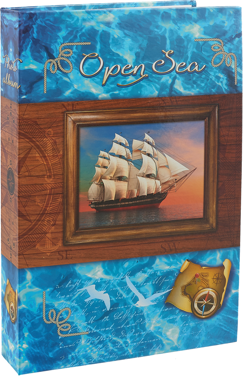 Фотоальбом Pioneer Open Sea. Штурвал, 300 фотографий, 10 x 15 см46405 AG46300/C_штурвал