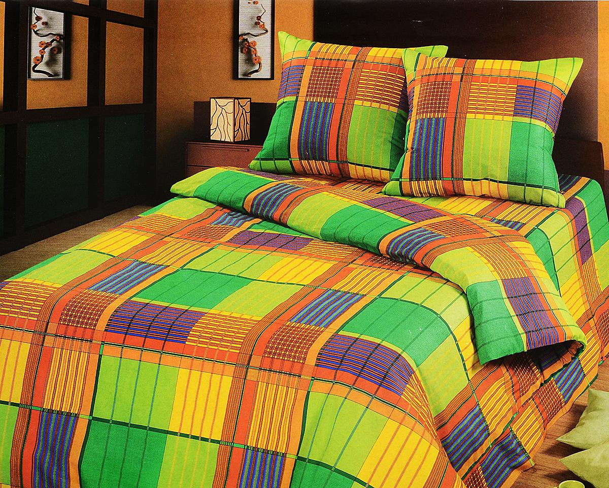 Комплект белья АртПостель Ямайка, 2-спальный, наволочки 70x70. 104 комплект белья артпостель жаклин 1 5 спальный наволочки 70x70