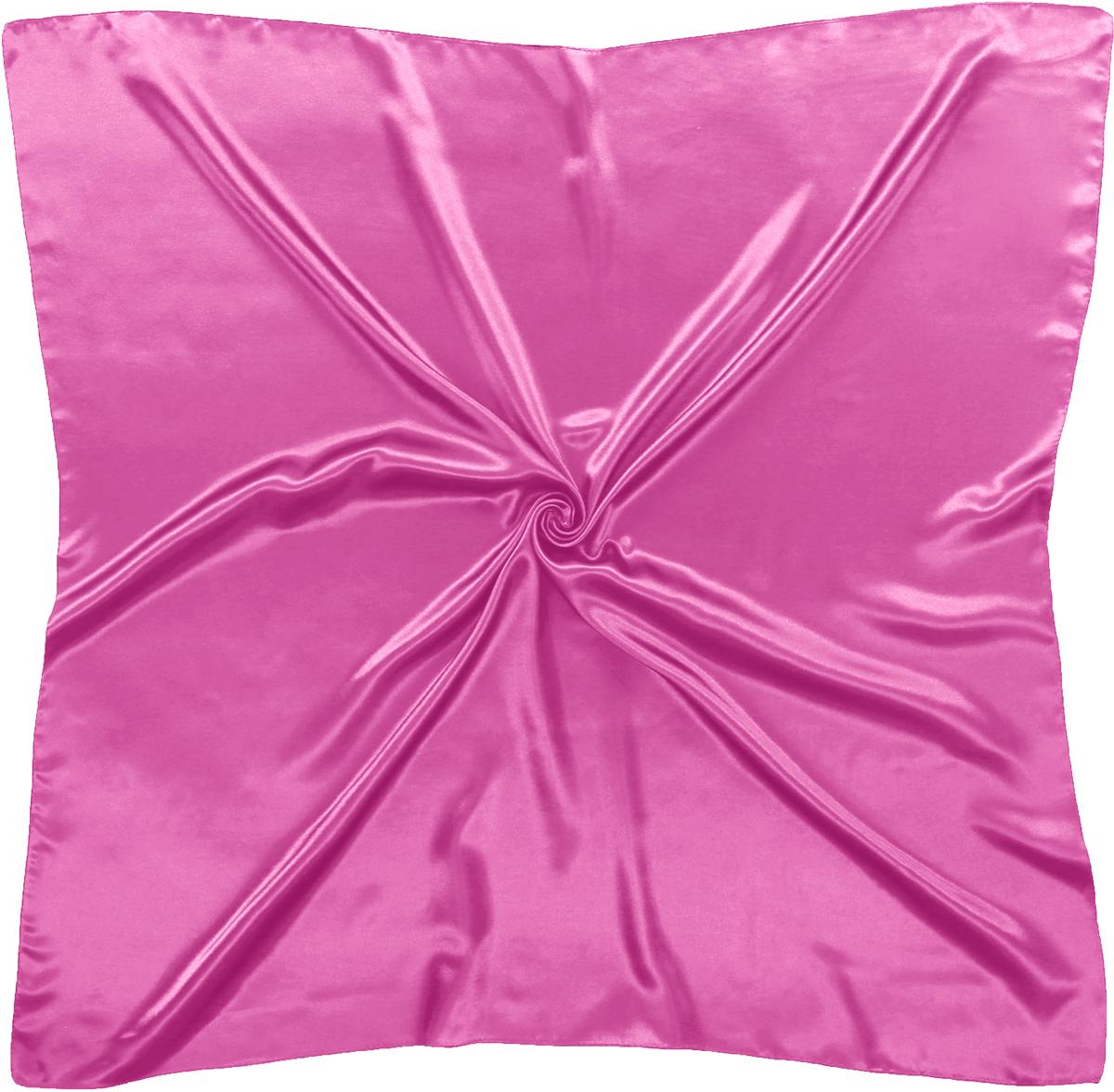Платок женский Модные истории, цвет: розовый. 23/0582/115. Размер 90 см x 90 см