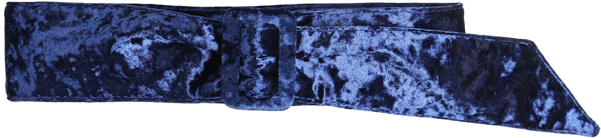 Ремень женский Модные истории, цвет: синий. 91/0291/180. Размер 110 см