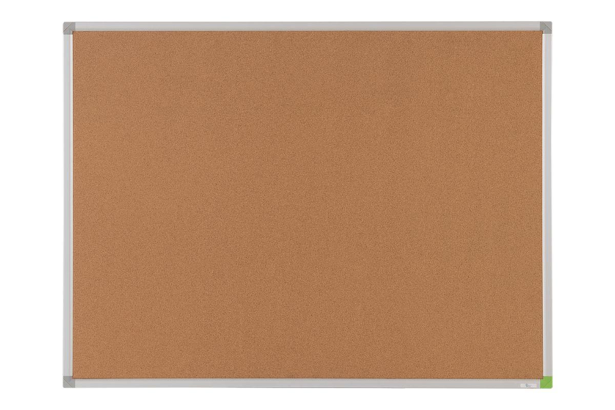 Office Level Доска пробковая 60 х 45 см1086045Пробковые доски предназначены для размещения объявлений, напоминаний, фотографий и других информационных материалов при помощи булавок. Незаменимы в офисах, школах, гостиницах и любых других учреждениях. Поверхность - высококачественная прессованная пробка, восстанавливается после прокалывания. Рамка из анодированного алюминия серебристого цвета со скругленными пластиковыми углами.Задняя сторона доски укреплена оцинкованным металлическим листом для придания необходимой жесткости и для защиты от деформации.Возможно горизонтальное или вертикальное крепление доски.Система крепежа доски к стене состоит из 4 потайных крючков.В комплект поставки включен крепеж для монтажа.