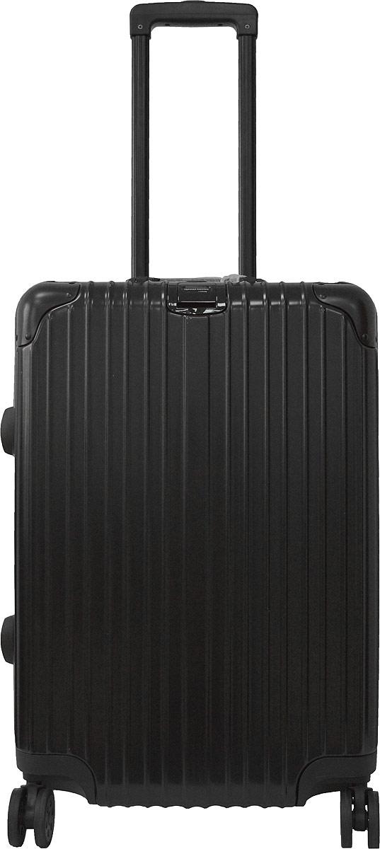 Чемодан Удачная покупка PC151, на колесах, цвет: черный, 42 л. УТ-00000091УТ-00000091Вес чемодана 3,9 кг (на бирке указан вес с упаковкой), в комплект входит чехол для безопасной транспортировки, чемодан по размерам подходит под ручную кладь.Чемодан оснащен кодовым замком с технологией TSA для таможенного досмотра (ключи для таких замков находятся у работников таможни, в комплекте к чемодану не идут, для использования не требуются).Чемодан из прочного, легкого и долговечного поликарбоната ABS+PC, изготовлен по трехслойной технологии.Ударопрочный и упругий каркас окантован усиленной алюминиевой рамкой.Влагонепроницаемый современный чемодан обладает впечатляющим дизайном.Специальная технология матовой окраски гарантирует защиту от царапин.Долговечные бесшумные колеса из высокопрочной резины с поворотным механизмом на 360° обеспечат легкость перемещения багажа.Надежная выдвижная ручка из усиленного алюминиевого сплава выдерживает нагрузку до 50 кг.Технологичный сплав ручки не ржавеет и надолго сохраняет безупречный внешний вид.Регулируемая высота ручки удобна для людей различного роста.Практичная внутренняя система хранения с двумя сетчатыми экранами обеспечивает быстрый доступ к необходимым вещам.